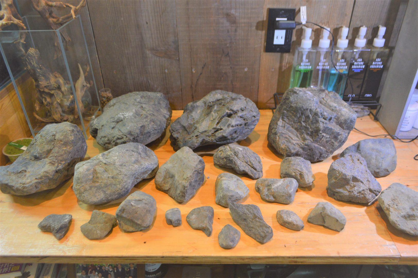 新しい石が仲間入り!